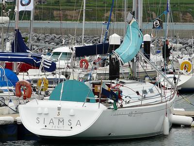 Siamsa (pronounced Sheem-sa) Beneteau First 40.7.