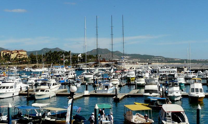 Cabo San Lucas Marina.