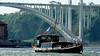 One of the tourist boats on the Douro River.