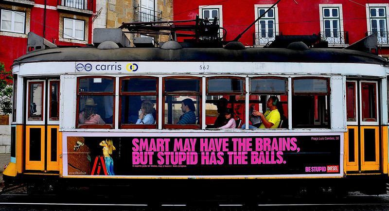 This explains a lot.  (They had a whole series of these on the Lisbon Trams).
