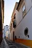Narrow streets in Tavira.
