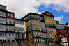 Porto and its colourful architecture.  Very different from Lisbon.