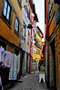 The old moorish neighborhood of Porto.