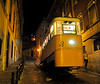 Ascensor da Gloria - probably steepest public transit ride in the world.  (Lisbon).