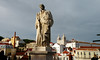 Statue of St. Vincent, not far from the castle, Lisbon.