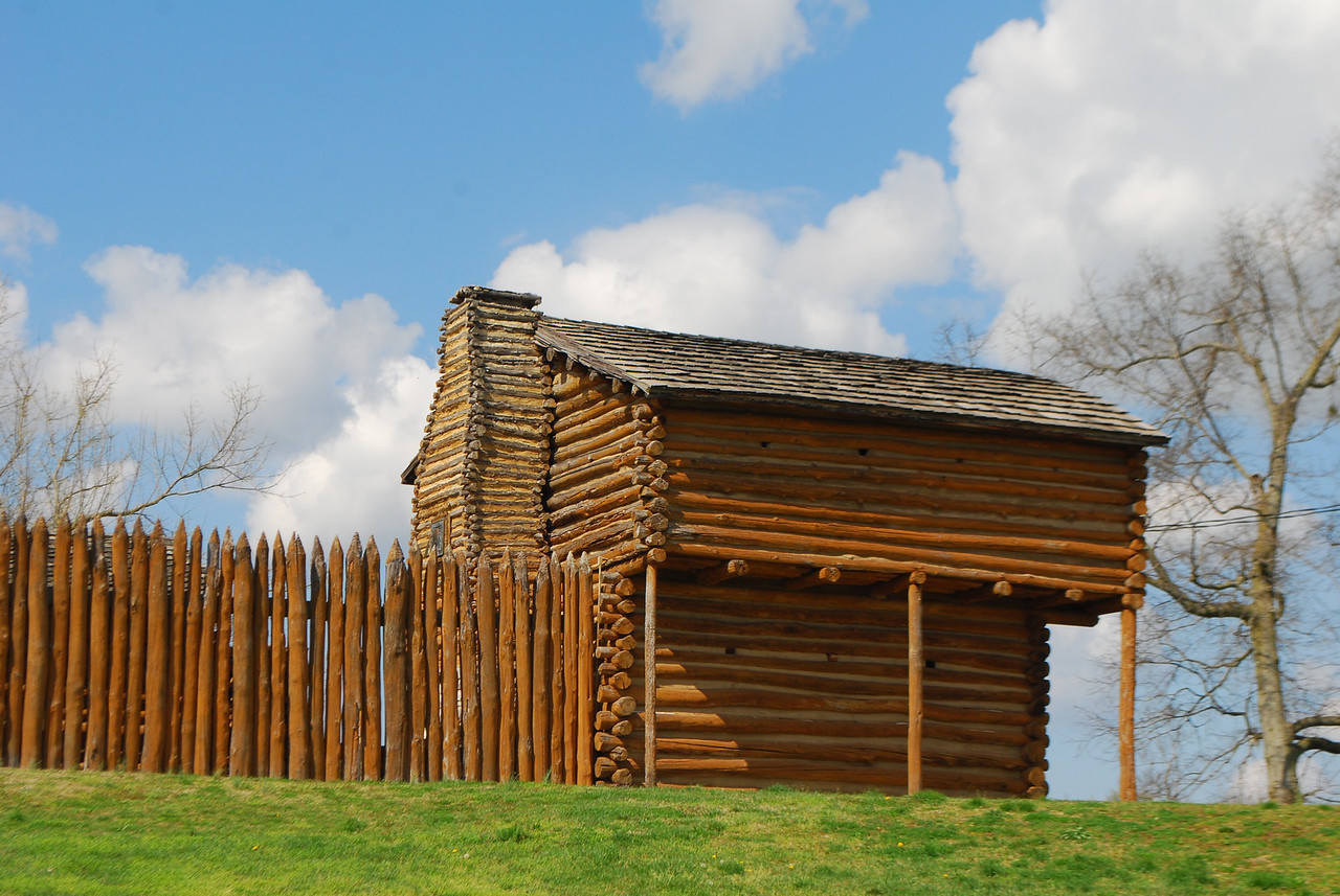 Old Fort, Shaker Village, Harrodsburg, KY 035