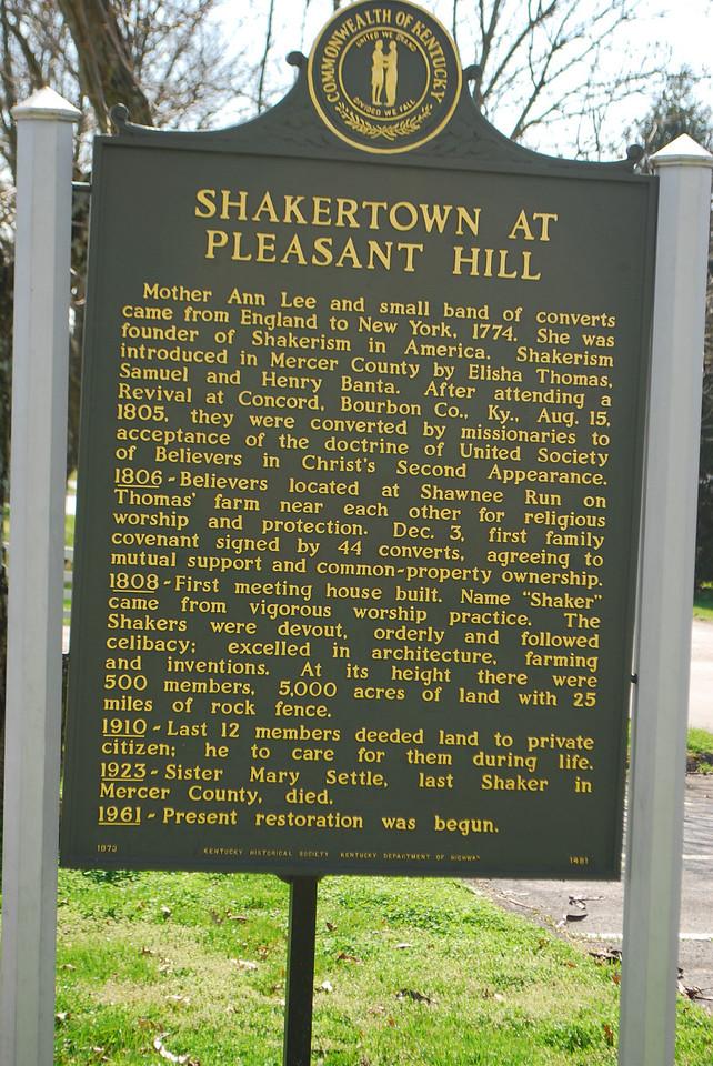 Old Fort, Shaker Village, Harrodsburg, KY 064