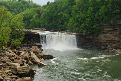 4-26-12 Levi Jackson, Cumberland Falls, Breaks Interstate SP's 075