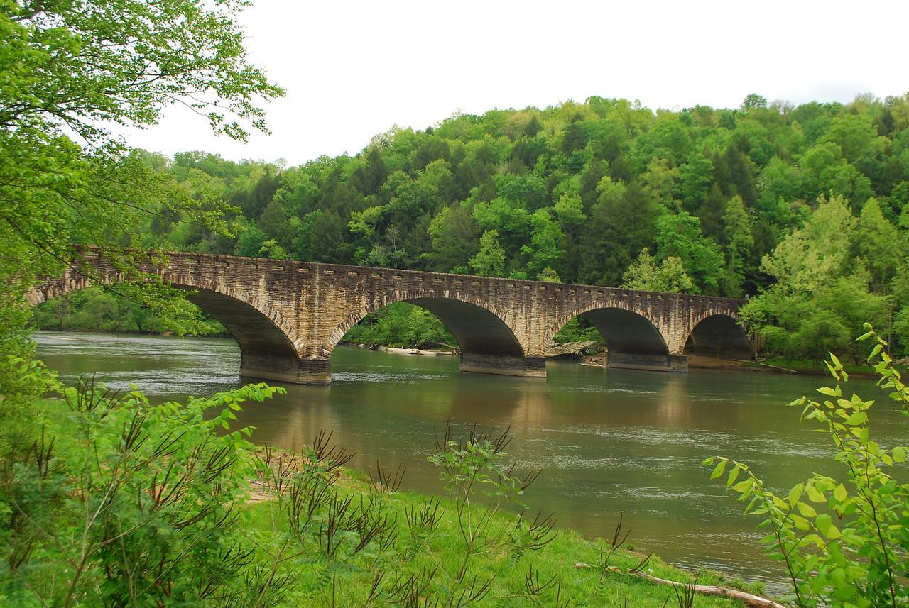 4-26-12 Levi Jackson, Cumberland Falls, Breaks Interstate SP's 054
