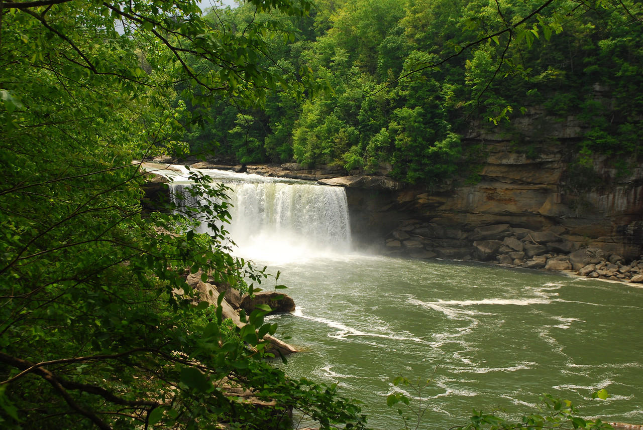 4-26-12 Levi Jackson, Cumberland Falls, Breaks Interstate SP's 073