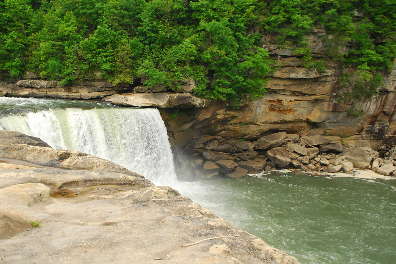 4-26-12 Levi Jackson, Cumberland Falls, Breaks Interstate SP's 064