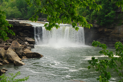 4-26-12 Levi Jackson, Cumberland Falls, Breaks Interstate SP's 077