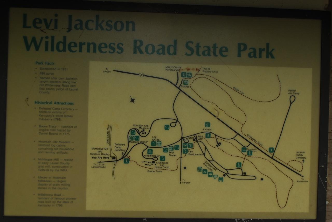 4-26-12 Levi Jackson, Cumberland Falls, Breaks Interstate SP's 001