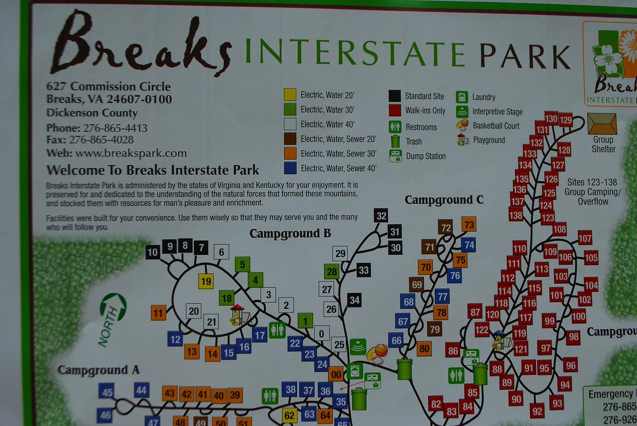 4-26-12 Levi Jackson, Cumberland Falls, Breaks Interstate SP's 085