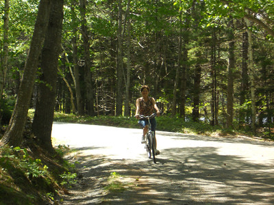 6-10-12 Buzzy pics, Acadia Bike Ride 055
