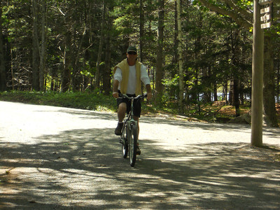 6-10-12 Buzzy pics, Acadia Bike Ride 056