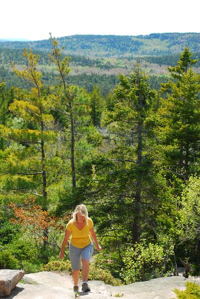 5-18-12 Acadia NP Loop, Gorsham Trail 080