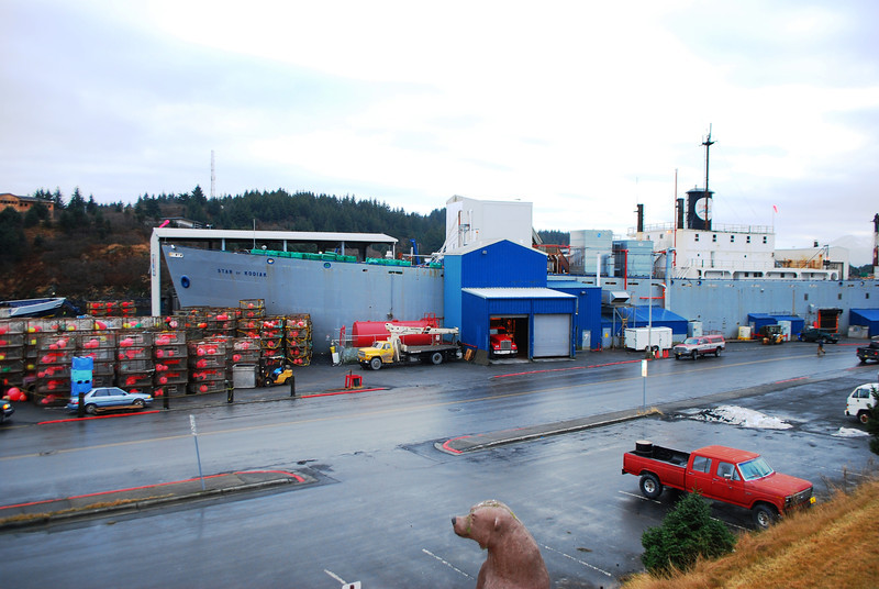 Fish Processing Ship.