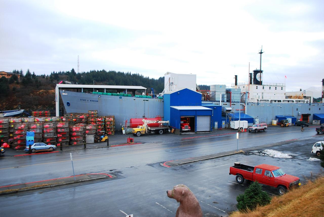 Fish Processing Ship.