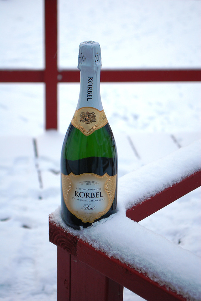 Bubbly for Christmas
