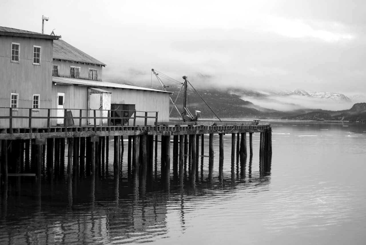 Cannery and pier