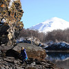3-21-14  Hike to Bear Camp, Deer,  Zachar Bay AK 035