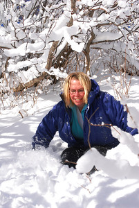 3-15-14  Fox, Snow Hike,  Zachar Bay AK 065
