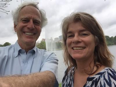 Hermann Park's McGovern Centennial Gardens, with Lisa