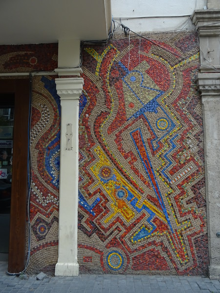 There were lots of fabulous mosaics around town.