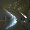 Heydar Aliyev Center - a concert hall with lots of sculpture and a few galleries for display of art, Azeri culture, and Azeri history<br /> <br /> The building was designed by the late architect Zaha Hadid.<br /> <br /> It was a wonderful walkabout with Dia, Andrew, and Nicholas.
