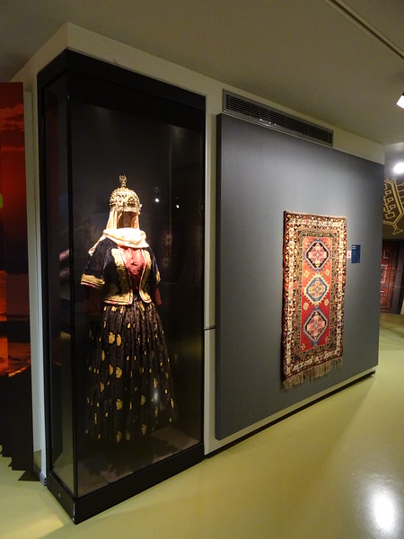 Azerbaijan Carpet Museum, shaped like a rolled-up carpet