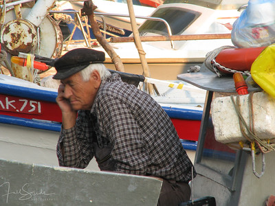 Thassian Fisherman takes a break