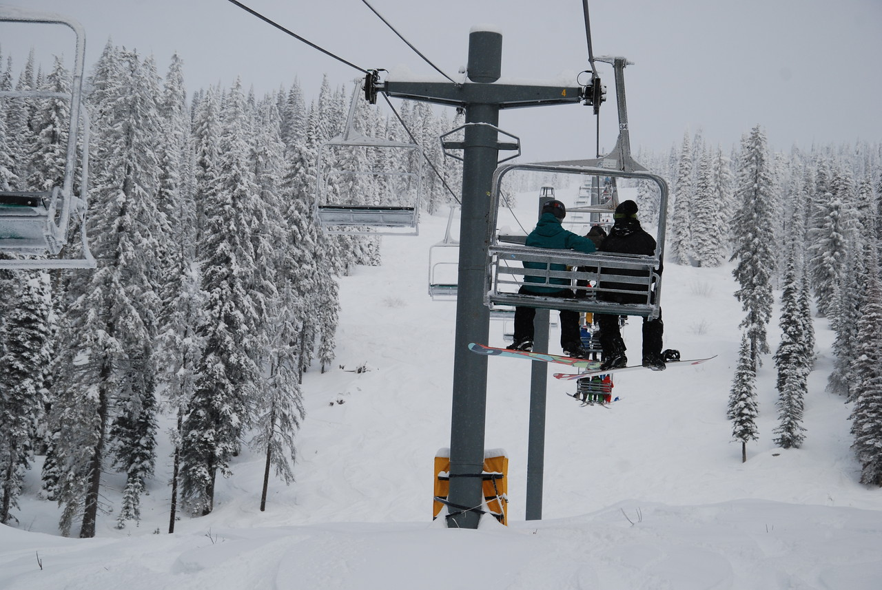Great conditions at Red Mountain. Dec 2016.