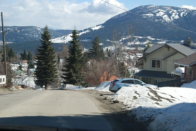 Rossland. March 2016.