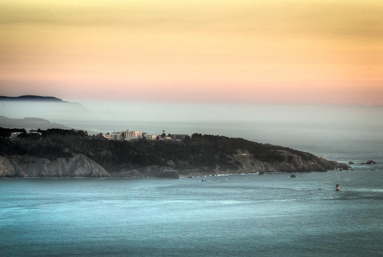 Foggy SF Bay