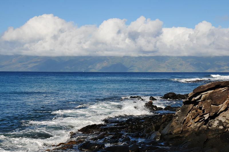 Lana'i looking from north Maui