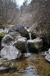Waterfalls in Valle S. Liberale - Fietta di Paderno del Grappa
