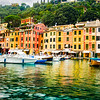 Portofino harbor, Italy