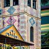 Portofino, trompe l'oeil, facades
