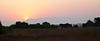 Sunrise in Queen Elizabeth NP