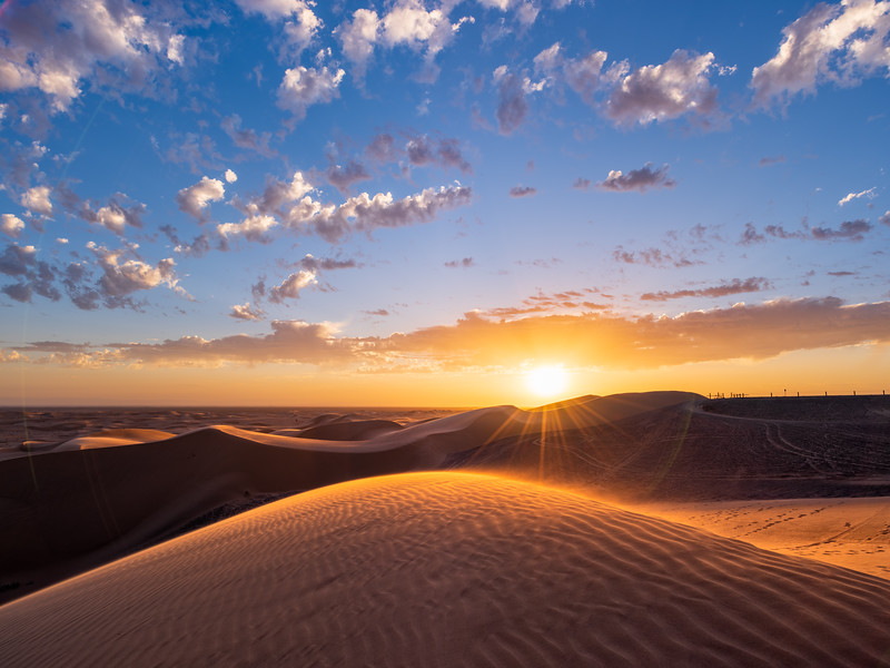 Sunset View Atop Glamis Dune