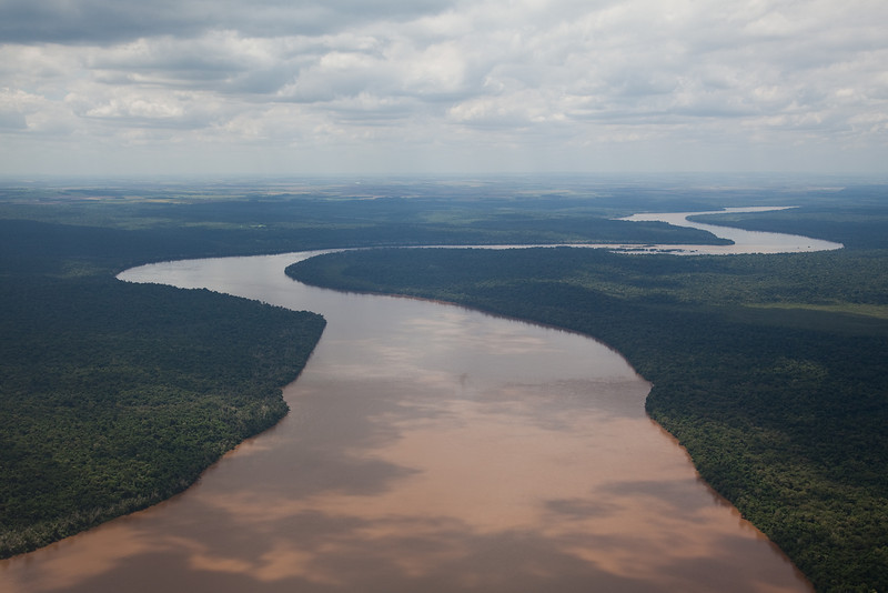 Iguaçu river