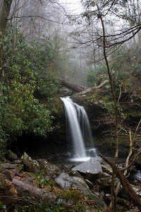 Waterfall in Great Smoky Mountains NP