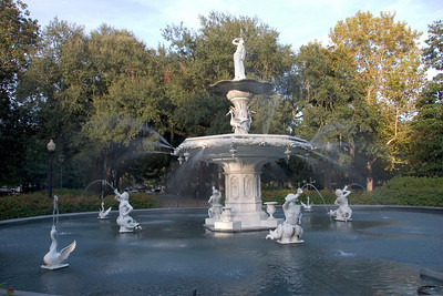 Fountain in Forsyth Park, Savannah