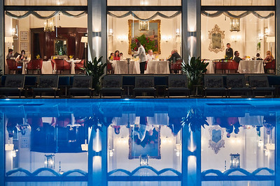 Swimming Pool at the Copacabana Palace Hotel