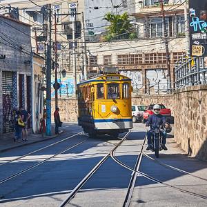 Bonde Trolley at Santa Teresa