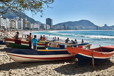 Fishing Boats at Copacabana
