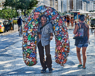 Can Collector at Copacabana