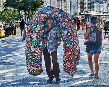 Can Collector at Copacabana