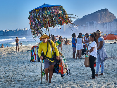 Bikini Vendor on Copacabana Beach
